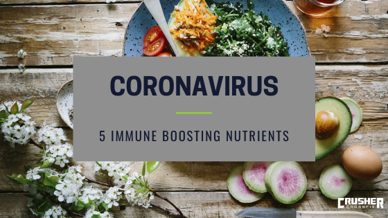 COVID-19 and 5 Immune Boosting Nutrients